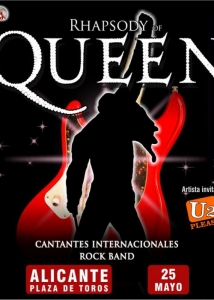 Concierto de Rhapsody Of Queen en Alicante